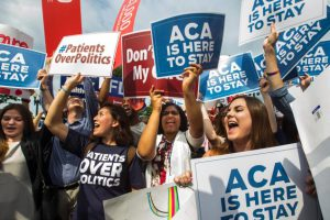 ACA Here 2 Stay - Crowd Celebrates